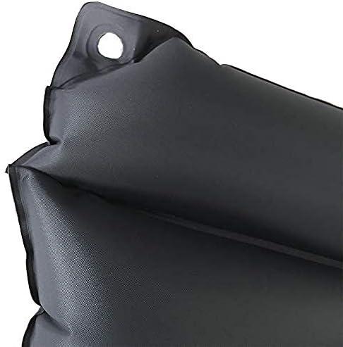 VGZ ZD & LQ Anti-Dekubitus-Rollstuhlkissen Bequemes luftaufblasbarer Sitz Akne Büro-Toilettensitzkissen Schwarz 45 cm x 37 cm x 33 cm