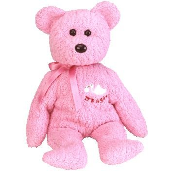 3142925ca4a Image Unavailable. Image not available for. Color  TY Beanie Baby - BABY  GIRL ...