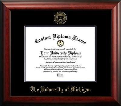 Universidad de Michigan marco de Diploma de graduación (11 x 14 ...