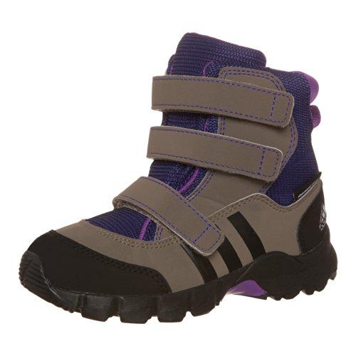Adidas Holtanna Snow CF PL I Stiefel grey blend-ray purple-black - 20
