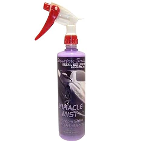 Amazon.com: Miracle Mist Showroom Shine Quick Detalle Spray ...