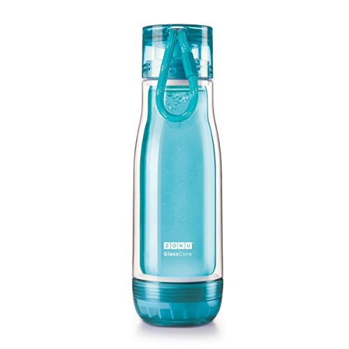 Zoku Glass Core Bottle, 16oz, Teal - Use Hot Water Bottle Shopping Results