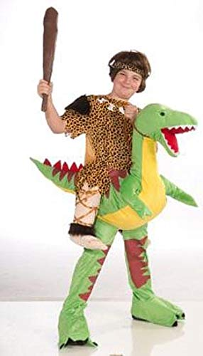 Forum Novelties Children's Dino and Cave Boy Rider Costume ()