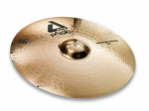 Paiste Alpha Brilliant Cymbal Medium Crash 18-inch (Paiste Alpha Rock)