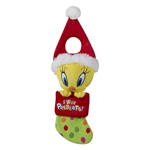 Kurt Adler Tweety Bird Plush Head Doorknob Hanger