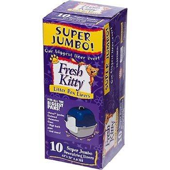 Royal Pet Fresh Kitty Super Jumbo Drawstring Litter Box Liners (2 (Super Jumbo Kitty Litter Liners)