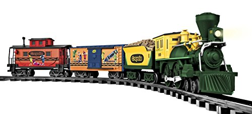 Lionel Trains Crayola G-Gauge Freight Set (All In The Family Lionel The Live In)