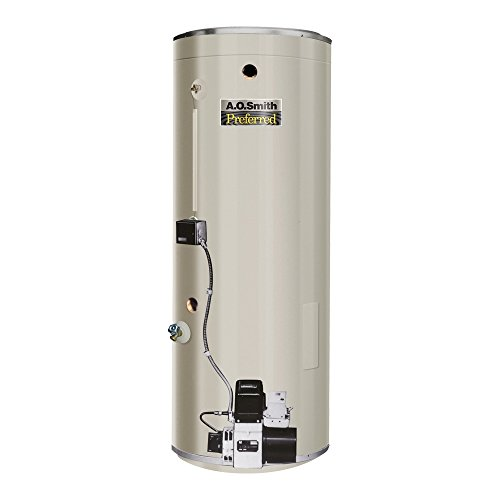 AO Smith COF-199S Commercial Oil Fired Tank Type Water He...