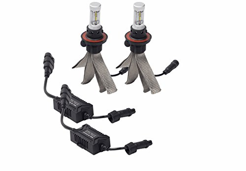 Putco 280011 Silver Lux H11/H8 LED Headlight Conversion Kit (2 Bulbs)