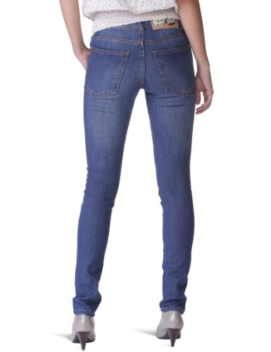 Cheap Monday - Vaqueros slim para mujer Azul (Broken Dark Used)