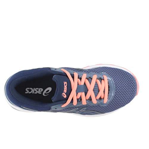 ASICS GT-1000 6 GS Kid's Running Shoe. Smoke Blue/Indigo Blue/Begonia Pink, 6 M US Big Kid by ASICS (Image #5)