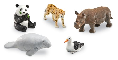 Learning Resources Jumbo Endangered Animals