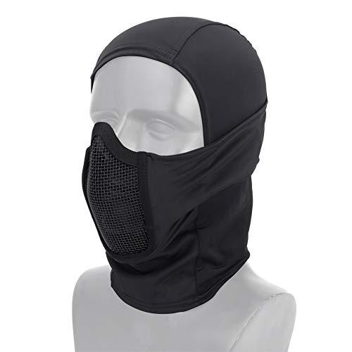 DETECH Tactique Vêtement Respirant Balaclava Maille Masque Visage Complet Airsoft CS Masque Chasse À Vélo Capuche Cache… 1