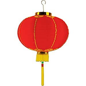 Good Luck Lantern w/Tassel Party Accessory (1 count) (1/Pkg)