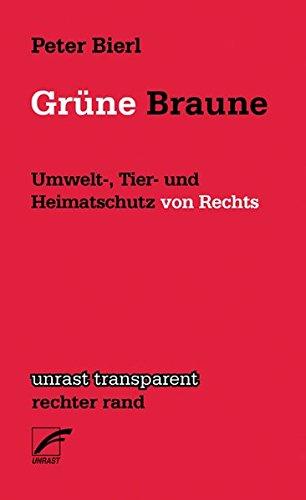 Grüne Braune: Umwelt-, Tier- und Heimatschutz von Rechts (Transparent)