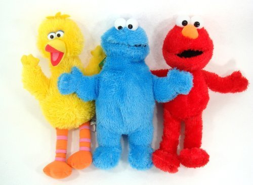 Sesame Street - Elmo and Friends 3 Piece