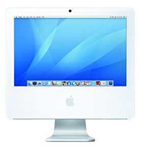Apple iMac Desktop with 17-inch Display MA710LL/A (1.83 GHz Intel Core 2 Duo, 512 MB RAM, 160 GB Hard Drive, Combo Drive) (Discontinued by Manufacturer)
