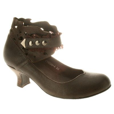Spring Step Women's Uptown Casual Shoes,Brown Leather,36 M EU