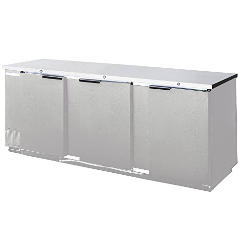 Beverage Air BB94F-1-S Three-Section Refrigerated Food Rated Back Bar Storage Cabinet 94