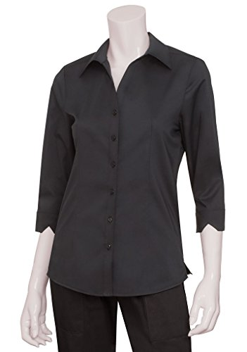 Chef Works Women's Finesse 3/4 Sleeve Fitted Shirt (WA34)