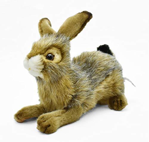 HANSA Crouching Bunny Plush