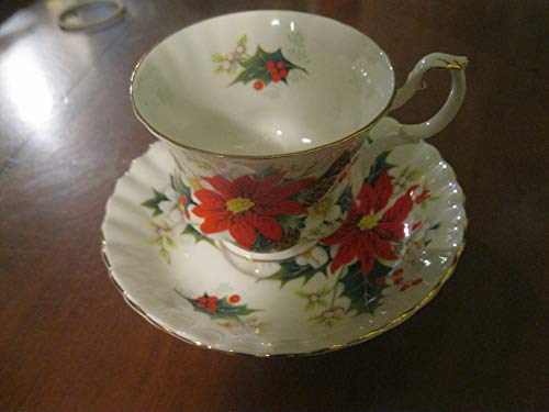 Vintage Royal Albert Yulecide Bone China Tea cup & Saucer England