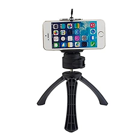 Tiankaid Alto Grado trípode Soporte con Soporte de teléfono para el iPhone/teléfono móvil y Lente de la cámara: Amazon.es: Electrónica
