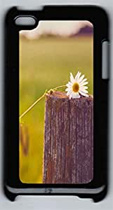 iPod 4Case nature flower colorful 6 PC Custom iPod 4Case Cover Black
