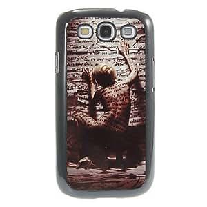 HJZ Samsung S3 I9300 compatible Special Design Plastic/Metal Back Cover