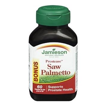 Jamieson Prostease Saw Palmetto, Bonus Size, 30 30 Softgels – Supports Prostate Health
