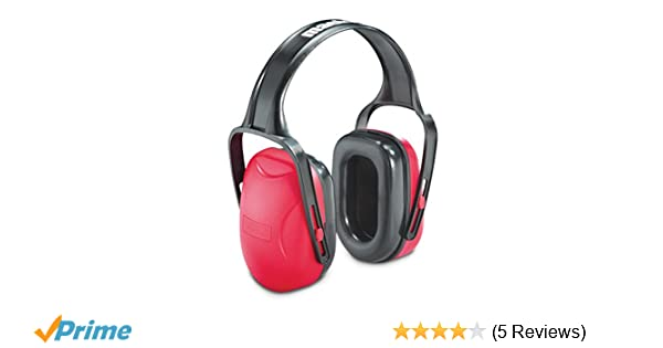 Sperian 1010421 Mach 1 Red//Black Earmuffs Hearing Protection Shooting Ear Muffs