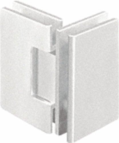 CRL Geneva 092 Series Brushed Nickel 90176; Glass-To-Glass Hinges