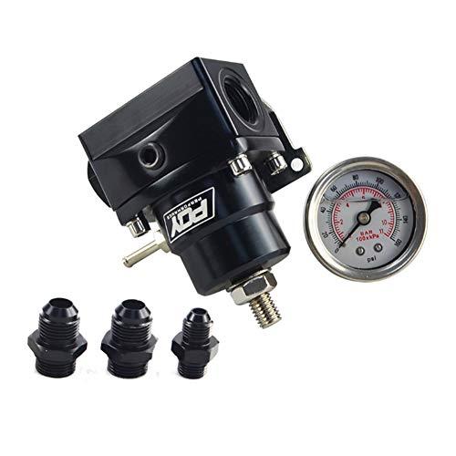 Pressure regulator 4 cylinder car AN8 fuel pressure regulator: