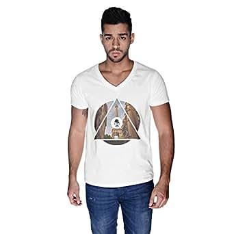 Creo Paris T-Shirt For Men - S, White