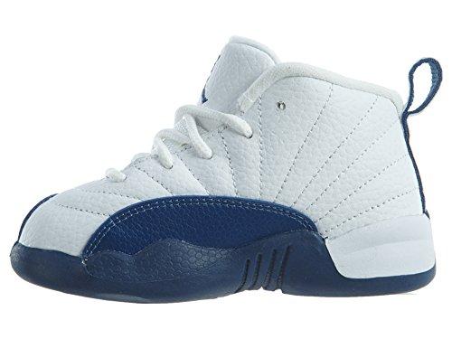 Bl Slvr mtllc Bt Retro Jordan vrst 12 Frnch Piccoli Bianco Jordan 1n608qz