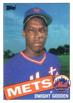 1985 Topps Baseball 620 Dwight Gooden Rookie Card