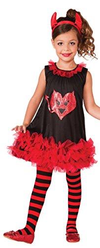 Rubies Devil Tutu Costume Dress, Toddler -