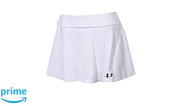 Lotto Nixia III W Falda de Tenis, Mujer, Blanco (Wht), XL: Amazon ...