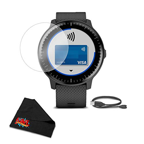 Garmin Vivoactive 3 Music - GPS Smart Watch with Music Storage & Playback - Bundle with Tempered Glass Screen Protector + 1 Year Extended Warranty by Garmin (Image #4)