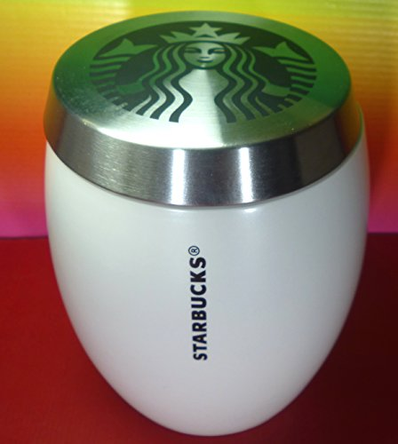 STARBUCKS CANISTER 24 OZ/710 ML AIRTIGHT LID CERAMIC FOR COFFEE,cookies,sugar, STORAGE JAR,NEW
