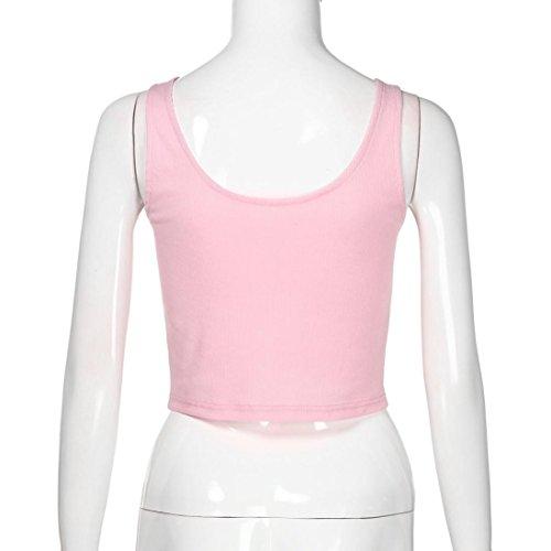 Chemises Courtes Shirt sans Dbardeur en Sport Fitness Caraco Col Uni Manches Fille Chic Femme T Angelof C Rose tes V 7Oaqdxwqz