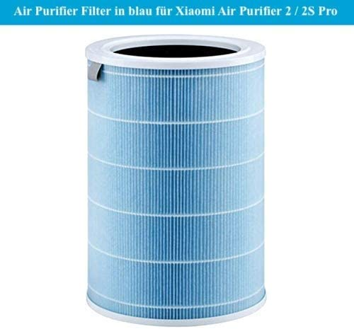 Filtro purificador de aire para Xiaomi Air Purifier 2 2S Pro de repuesto en azul para purificador de aire de Xiaomi ...