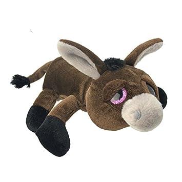 Wild Planet 36 cm floppys burro de peluche (Multicolor)