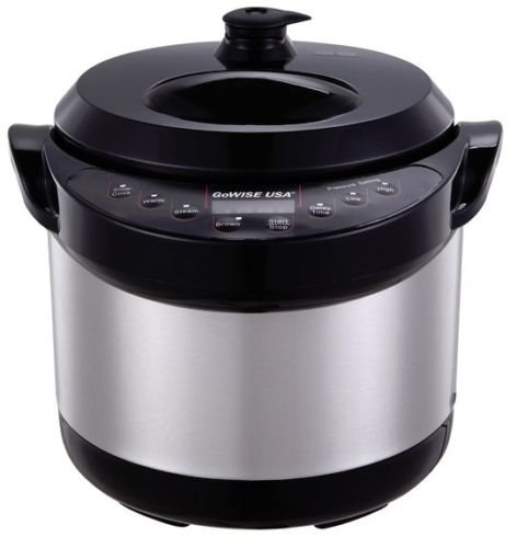 600w 3 Qt 6 In 1 Programmable Electric Non Stick Pressure Cooker Steamer Warmer Buy Online In