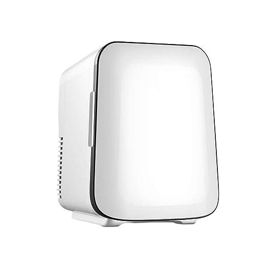 Vía Blanca lechosa Portátil 4L Mini refrigerador Manija pequeña ...