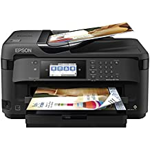 WorkForce WF-7710 Wireless Wide-format Color Inkjet Printer with Copy, Scan, Fax, Wi-Fi Direct and Ethernet