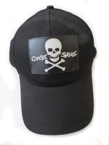 DJ LED LIGHT UP Flashing Sound Activated Crazy Skull Halloween PATY DJ Disco Hat Cap]()