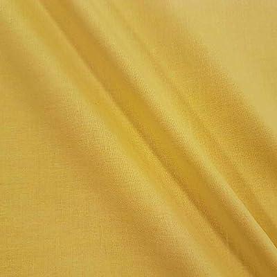 Metro plástico Tela de algodón Bandera Paño Amarillo 100% algodón ...