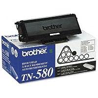 Brother TN580 TN580 High-Yield Toner, Black