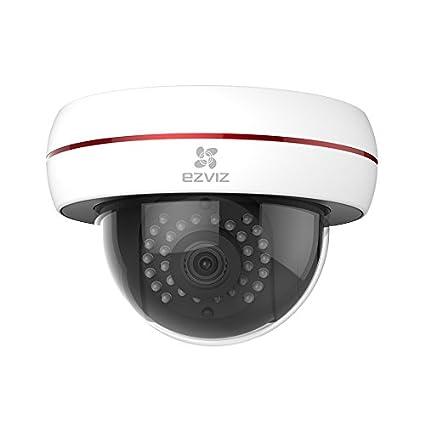 EZVIZ C4S, 1080p HD Cámara de Vigilancia Cámaras en Domo WI-FI con Visión